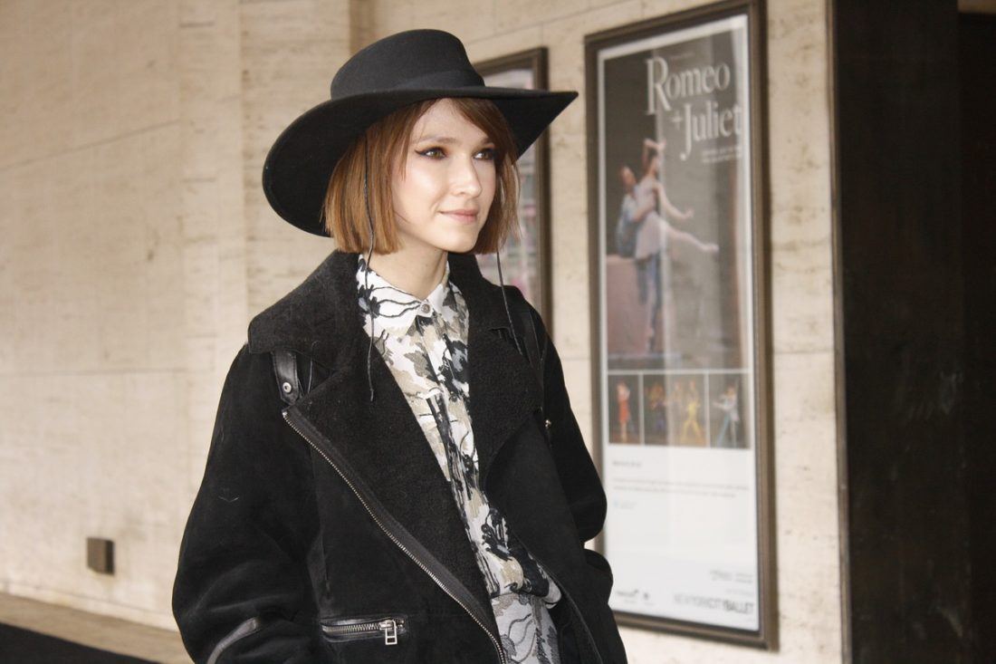 Caitlin Craig Lawrence at New York Fashion Week